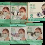 Mascarilla FFP2 Estampadas 10Unidades